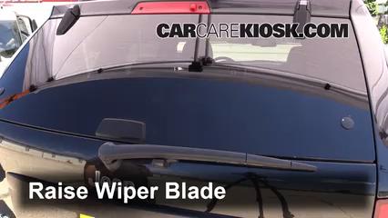2008 Jeep Grand Cherokee Laredo 3.0L V6 Turbo Diesel Windshield Wiper Blade (Rear)
