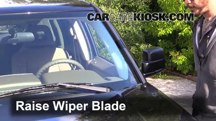 2008 Jeep Patriot Sport 2.4L 4 Cyl. Windshield Wiper Blade (Front) Replace Wiper Blades