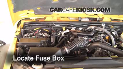 2008 Jeep Wrangler Unlimited Rubicon 3.8L V6 Fuse (Engine)