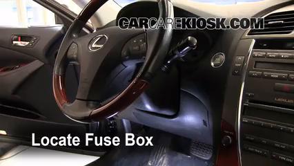 2008 Lexus ES350 3.5L V6 Fuse (Interior)