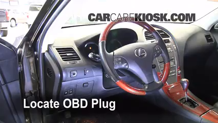 2008 Lexus ES350 3.5L V6 Check Engine Light