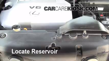 2008 Lexus RX350 3.5L V6 Líquido limpiaparabrisas