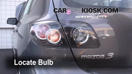2008 Mazda 3 S 2.3L 4 Cyl. Hatchback Lights Reverse Light (replace bulb)