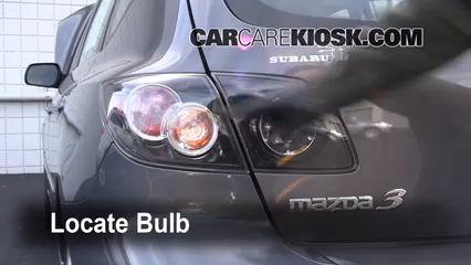 2008 Mazda 3 S 2.3L 4 Cyl. Hatchback Lights