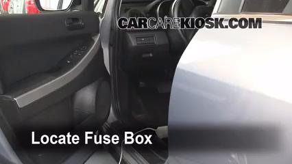 2008 Mazda CX-7 Sport 2.3L 4 Cyl. Turbo Fuse (Interior) Check