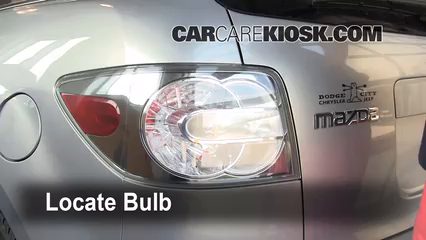 2008 Mazda CX-7 Sport 2.3L 4 Cyl. Turbo Lights Brake Light (replace bulb)