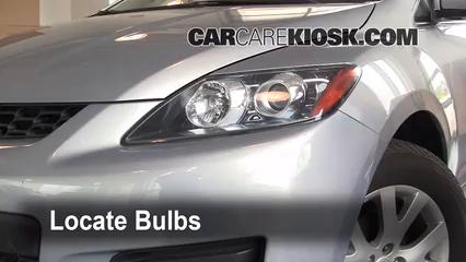 2008 Mazda CX-7 Sport 2.3L 4 Cyl. Turbo Lights Parking Light (replace bulb)