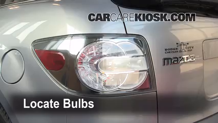 2008 Mazda CX-7 Sport 2.3L 4 Cyl. Turbo Lights Tail Light (replace bulb)
