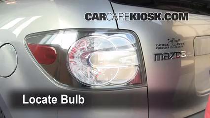 2008 Mazda CX-7 Sport 2.3L 4 Cyl. Turbo Lights Turn Signal - Rear (replace bulb)