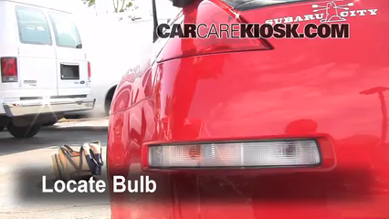 2008 Nissan 350Z 3.5L V6 Luces Luz de reversa (reemplazar foco)