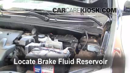 2008 Nissan Sentra S 2.0L 4 Cyl. Brake Fluid Add Fluid
