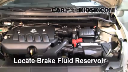 2008 Nissan Versa S 1.8L 4 Cyl. Sedan Brake Fluid