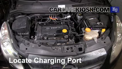 2008 Opel Corsa D 1.2L 4 Cyl. Aire Acondicionado Agregar Freón