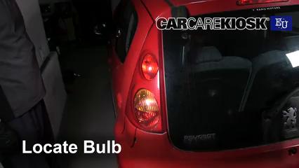 2008 Peugeot 107 Trendy 1.0L 3 Cyl. Luces