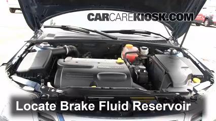 2008 Saab 9-3 2.0T 2.0L 4 Cyl. Turbo Wagon (4 Door) Brake Fluid
