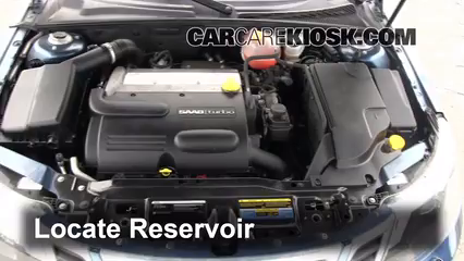 2008 Saab 9-3 2.0T 2.0L 4 Cyl. Turbo Wagon (4 Door) Windshield Washer Fluid