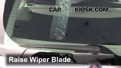 2008 Saab 9-3 2.0T 2.0L 4 Cyl. Turbo Wagon (4 Door) Windshield Wiper Blade (Rear)