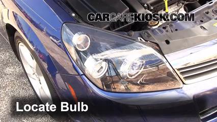 2008 Saturn Astra XR 1.8L 4 Cyl. (4 Door) Luces Luz de giro delantera (reemplazar foco)