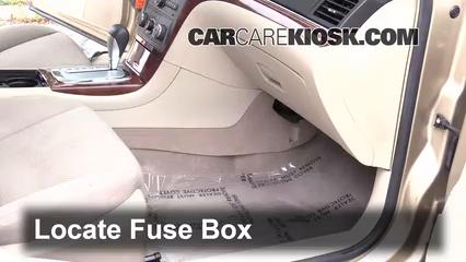 interior fuse box location: 2007-2009 saturn aura - 2008 saturn aura xe  3.5l v6  carcarekiosk
