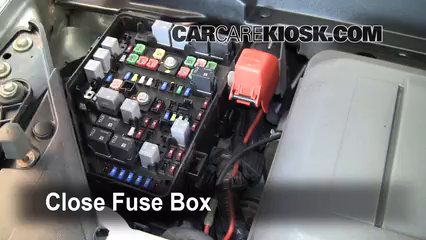 Replace a Fuse: 2007-2010 Saturn Outlook - 2008 Saturn Outlook XE 3.6L V6 | Saturn Outlook Fuse Box Location |  | CarCareKiosk