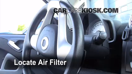 2008 Smart Fortwo Passion 1.0L 3 Cyl. Air Filter (Cabin)