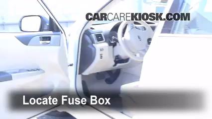 2008 Subaru Impreza 2.5i 2.5L 4 Cyl. Sedan Fusible (interior)