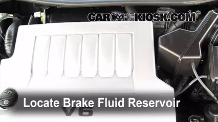 2008 Toyota Avalon Limited 3.5L V6 Brake Fluid