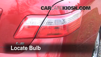 2008 Toyota Camry LE 2.4L 4 Cyl. Lights