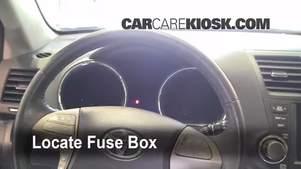 2008 Toyota Highlander Sport 3.5L V6 Fuse (Interior)