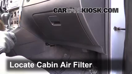 2008 Toyota Matrix XR 1.8L 4 Cyl. Air Filter (Cabin)