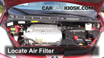 2008 Toyota Sienna CE 3.5L V6 Mini Passenger Van Air Filter (Engine)
