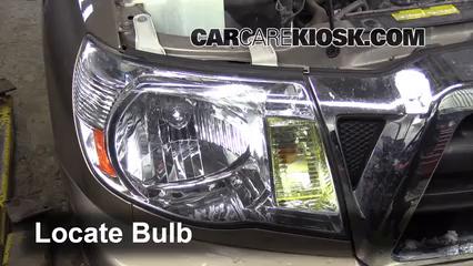 2008 Toyota Tacoma 2.7L 4 Cyl. Extended Cab Pickup (4 Door) Luces Luz de estacionamiento (reemplazar foco)