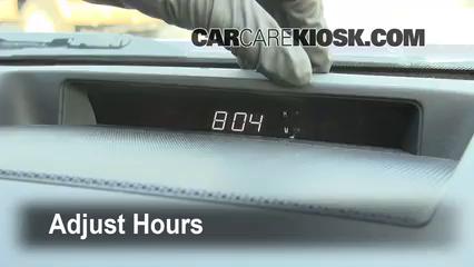2008 Toyota Tundra SR5 4.7L V8 Crew Cab Pickup Clock