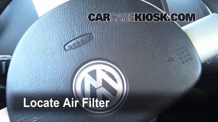 2008 Volkswagen Beetle S 2.5L 5 Cyl. Hatchback Air Filter (Cabin)
