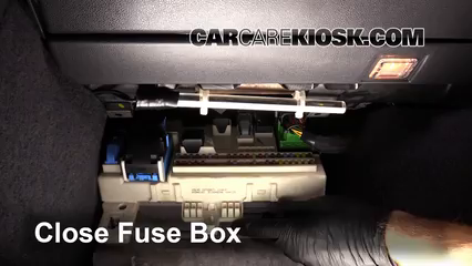 Interior Fuse Box Location: 2008-2013 Volvo C30 - 2008 Volvo C30 T5 2.5L 5  Cyl. Turbo | Volvo C30 Fuse Box Diagram |  | CarCareKiosk
