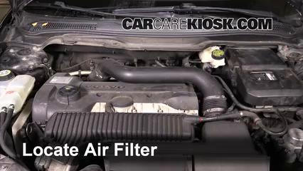 2008 Volvo C70 T5 2.5L 5 Cyl. Turbo Air Filter (Engine)