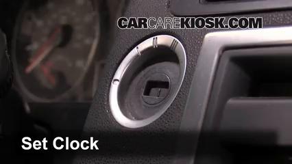 2008 Volvo C70 T5 2.5L 5 Cyl. Turbo Clock