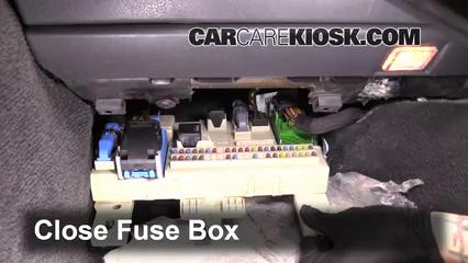 Interior Fuse Box Location: 2006-2013 Volvo C70 - 2008 Volvo C70 T5 2.5L 5  Cyl. Turbo | Volvo C70 Convertible Fuse Box |  | CarCareKiosk