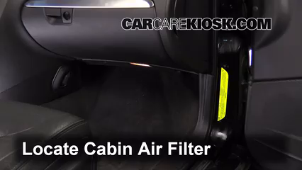 2008 Volvo S60 2.5T 2.5L 5 Cyl. Turbo Air Filter (Cabin)