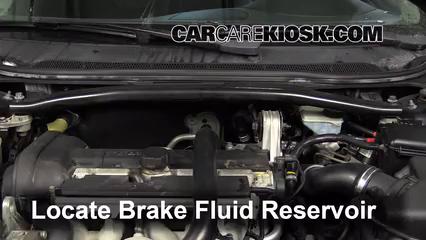 2008 Volvo S60 2.5T 2.5L 5 Cyl. Turbo Brake Fluid
