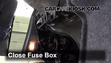 Interior Fuse Box Location: 2001-2009 Volvo S60 - 2002 Volvo S60 2.4L 5 Cyl. | Volvo S60 Passenger Fuse Box |  | CarCareKiosk