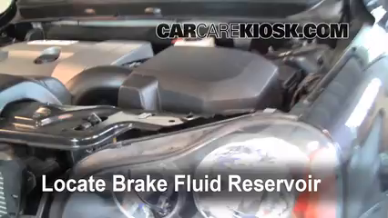 2008 Volvo XC90 3.2 3.2L 6 Cyl. Brake Fluid Add Fluid