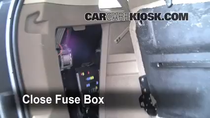 Interior Fuse Box Location: 2003-2014 Volvo XC90 - 2004 Volvo XC90 T6 2.9L  6 Cyl. Turbo | Volvo Xc90 Fuse Box 2004 |  | CarCareKiosk