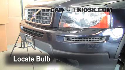 2008 Volvo XC90 3.2 3.2L 6 Cyl. Luces Luz de giro delantera (reemplazar foco)