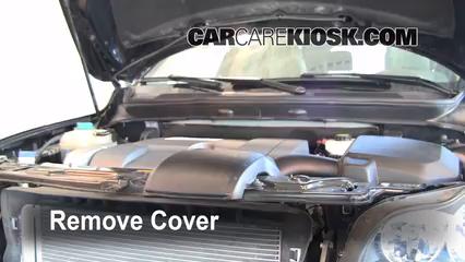 2008 Volvo XC90 3.2 3.2L 6 Cyl. Aceite Cambiar aceite y filtro de aceite