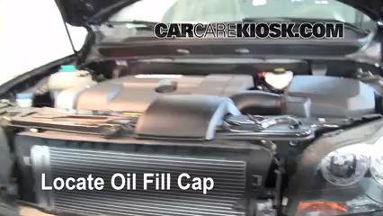 2008 Volvo XC90 3.2 3.2L 6 Cyl. Aceite Agregar aceite