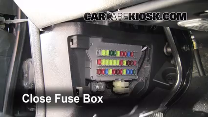 interior fuse box location 2007 2013 acura mdx 2009. Black Bedroom Furniture Sets. Home Design Ideas