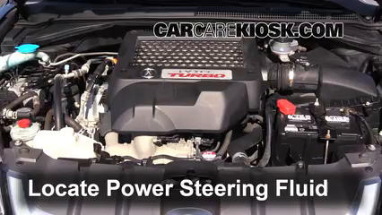 Follow These Steps To Add Power Steering Fluid To A Acura RDX - Acura mdx power steering fluid