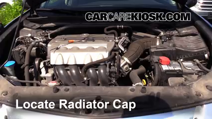 Coolant Flush Howto Acura TSX Acura TSX L Cyl - Acura tsx radiator