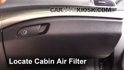 2009 Acura TSX 2.4L 4 Cyl. Air Filter (Cabin)